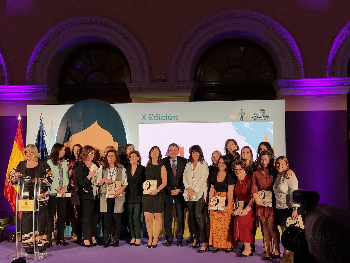 X Edición Premios de Excelencia a la Innovación para Mujeres Rurales 2019