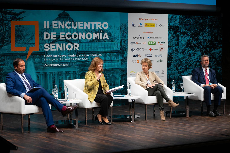 II Encuentro de Economía Senior, Octubre 2019