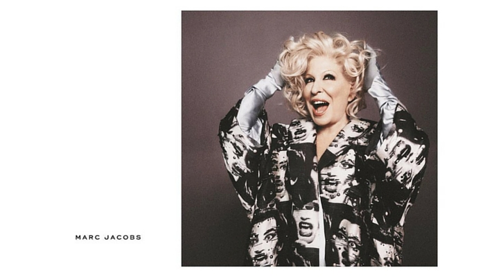 Bette Midler (1945) para Marc Jacobs, 2016. Foto: David Sims