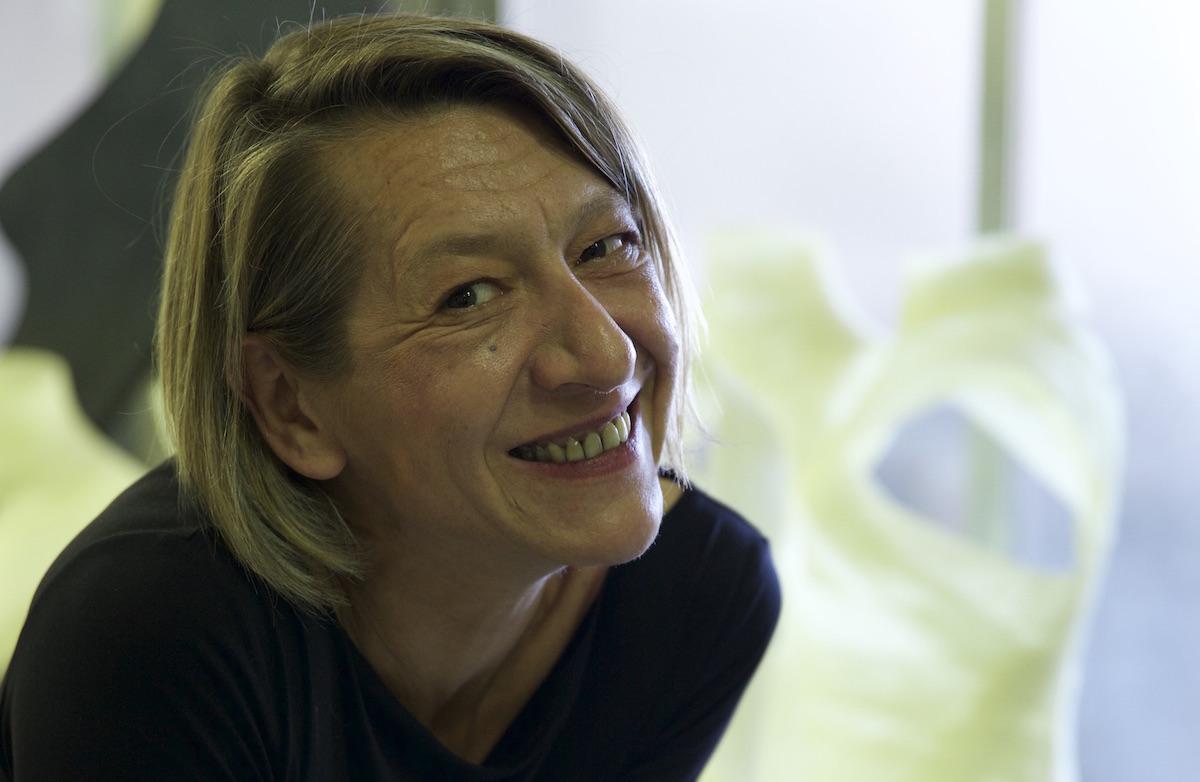 La artista Inés Diarte. Retrato © Carmen Saura