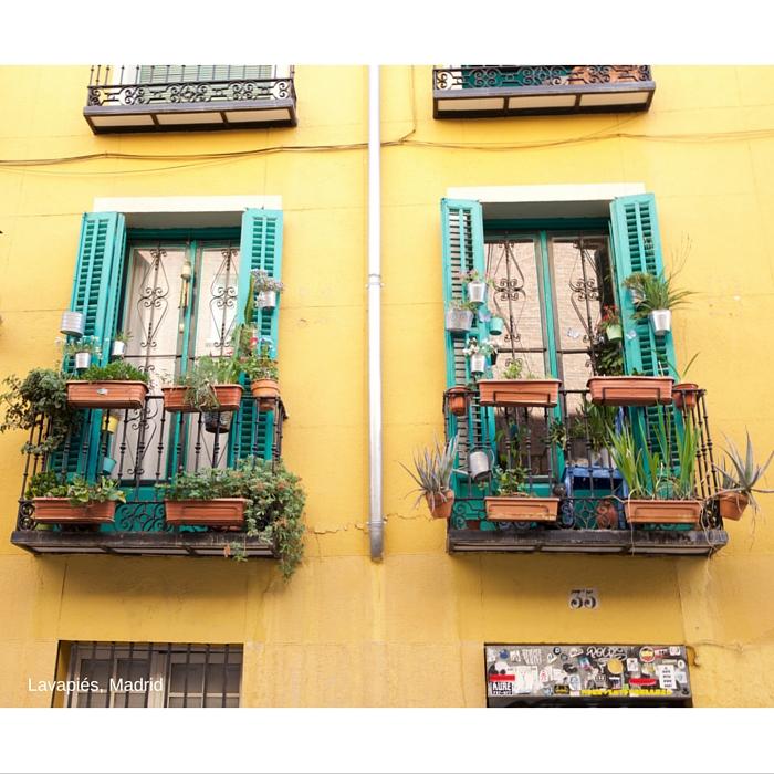 Fachada de Lavapiés, Madrid