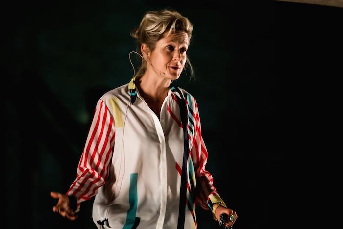 Fotografía de Martha Lane Fox en The Lost Lectures 2014