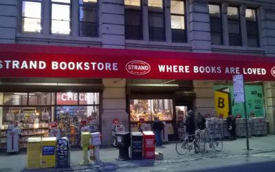 La librería Strand, uno de los lugares más estimulantes de Nueva York