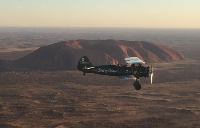sobrevolando Australia