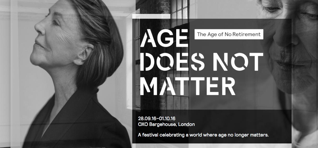Festival Age Does Not Matter en Londres, 2016