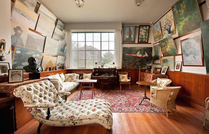 Salón-atelier Foto © Fondation Claude Monet – Giverny