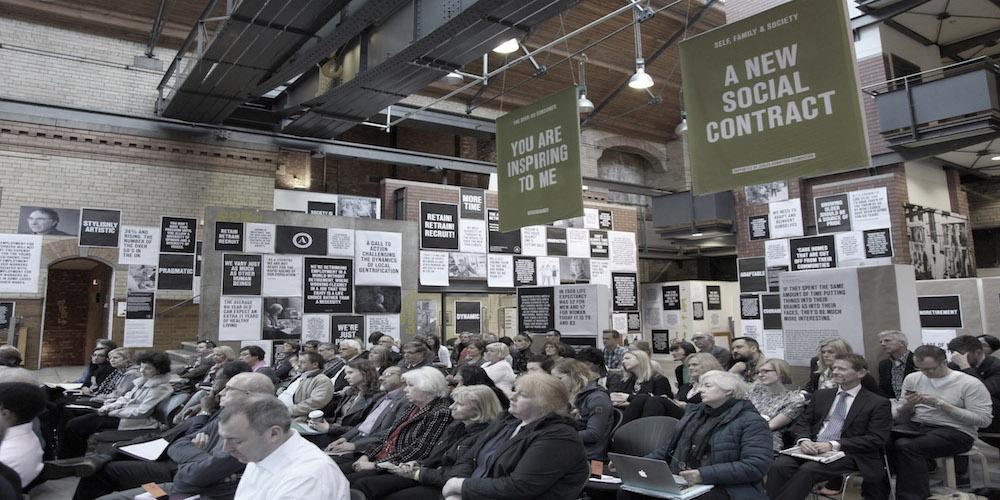 Festival organizado por The Age of No Retirement en el People's History Museum, Manchester, 2015