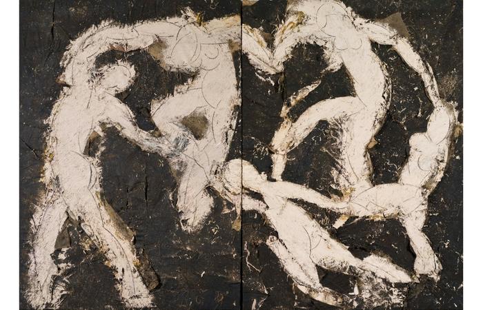 La danza de Manolo Valdés, 1987-88