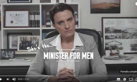She's the Minister for Men, la ficción que inspiró un Minister for Women…
