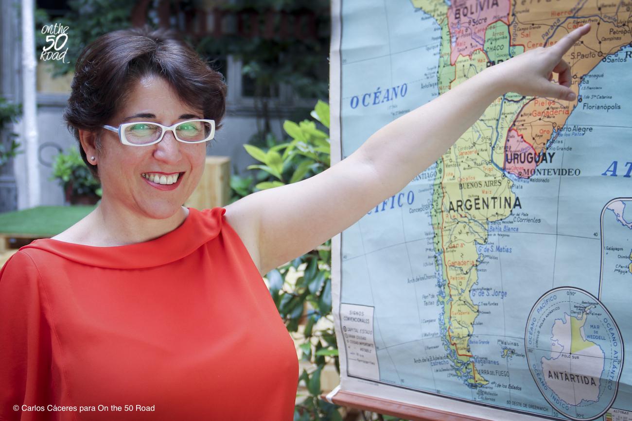 Alice Fauveau. Foto de Carlos Cáceres para On the 50 Road