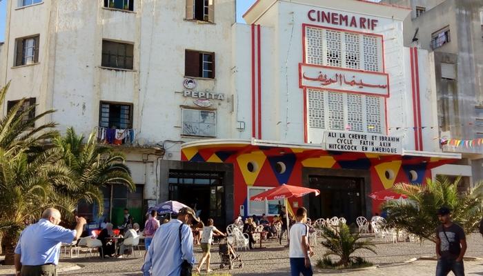 Fachada del Cinema Rif en Plaza 9 de Abril