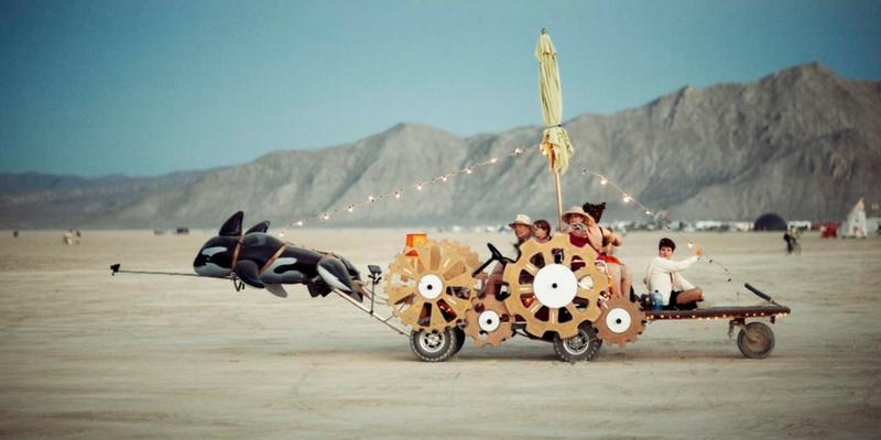 Burning Man 2010. Foto: Christopher Michel