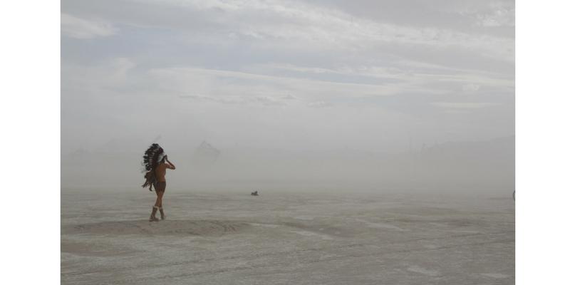 Burning Man 2014. Foto: Dana Wilson, BLM Public Affairs