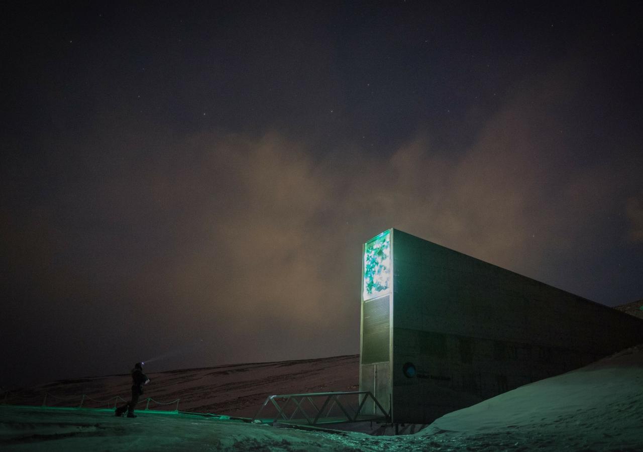Svalbard Global Seed Vault Foto: Frode Ramone, Oslo/Wikimedia