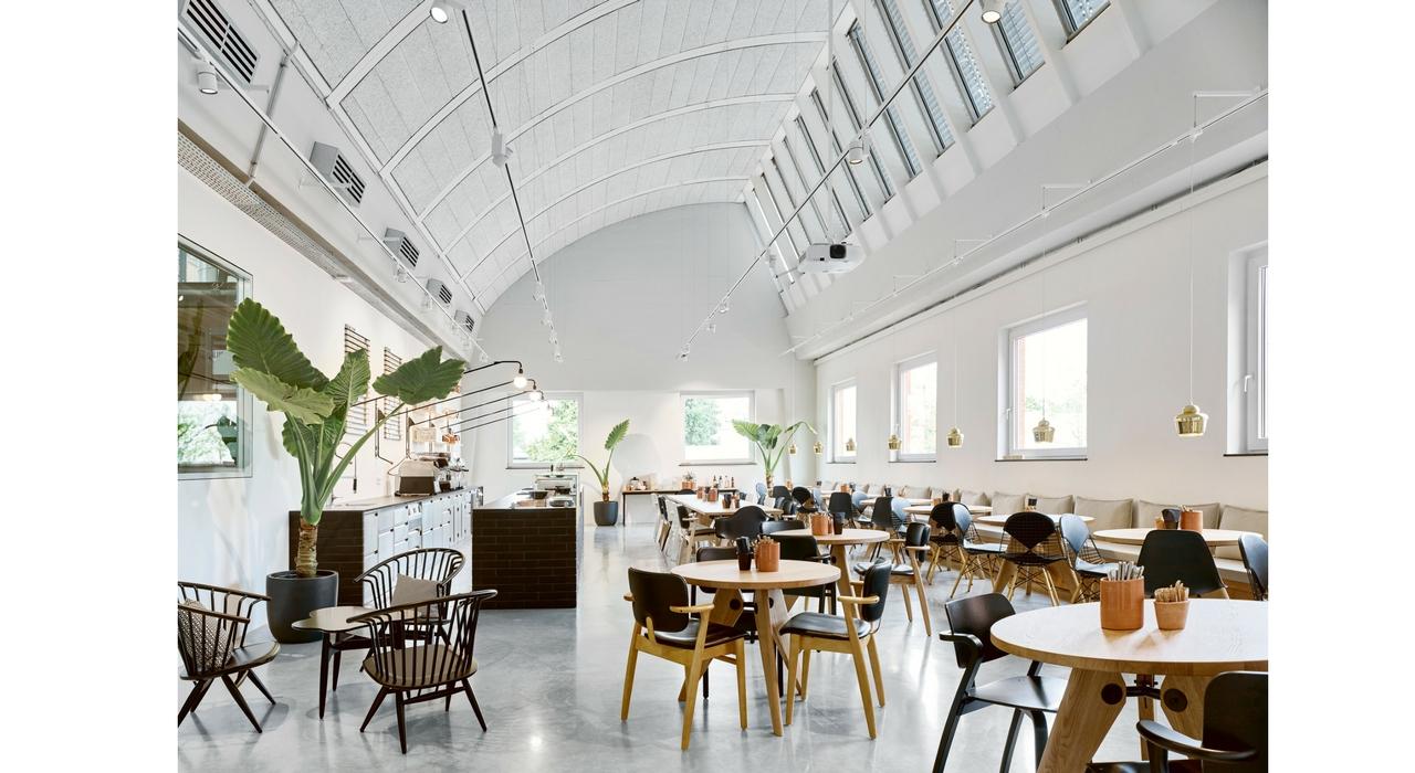 Restaurante Depot Deli en Vitra Schaudepot