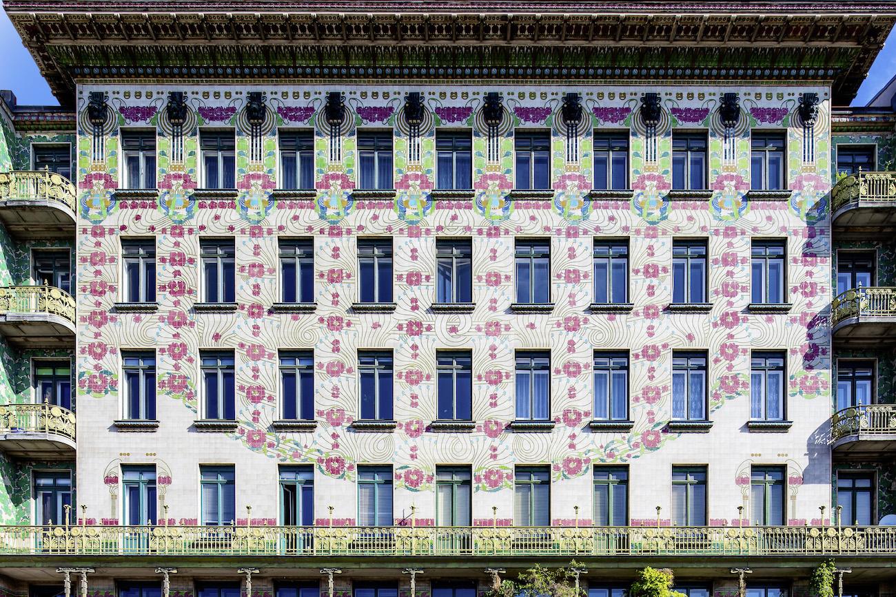 Vienna 2018 Wienzeile Jugendstil Fassade (c) WienTourismus Christian Stemper