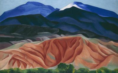 Georgia O'Keeffe, entre tierras baldías