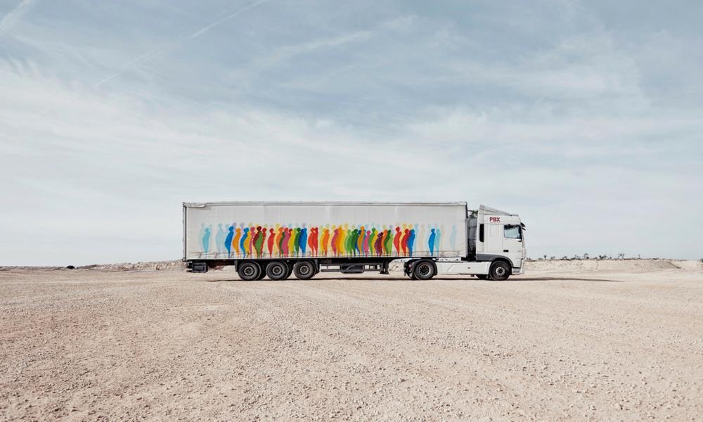 obra de Suso33 para Truck Art Project