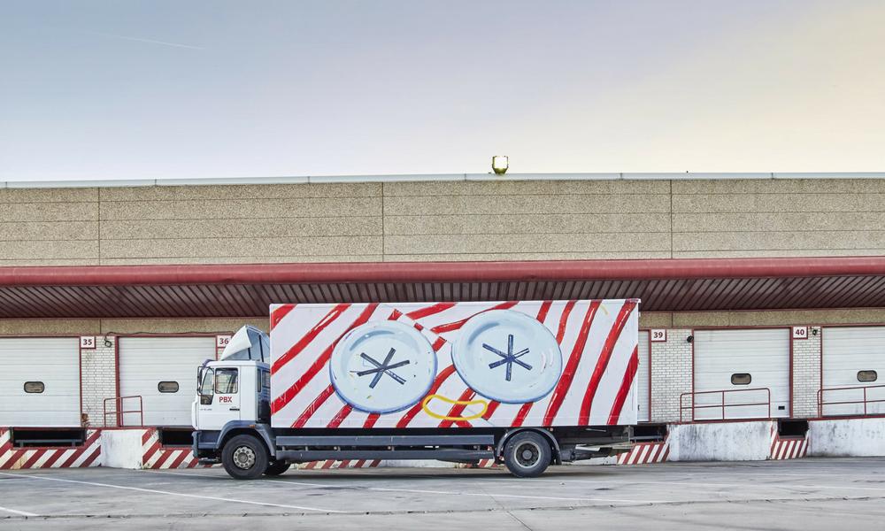 obra de Ana Barriga para Truck Art Project