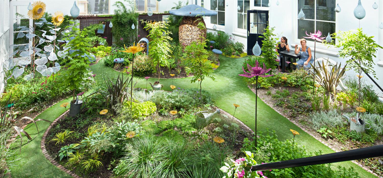 Droog-Fairy Tale Garden - Amsterdam Open Garden Days 2018