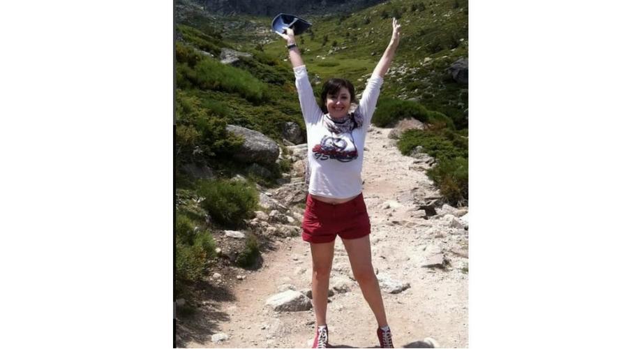 """""""¡Qué sensación de plenitud, fuerza y felicidad me dan las montañas!"""" Foto publicada en su cuenta de Instagram @mariajosemontielbarcia"""