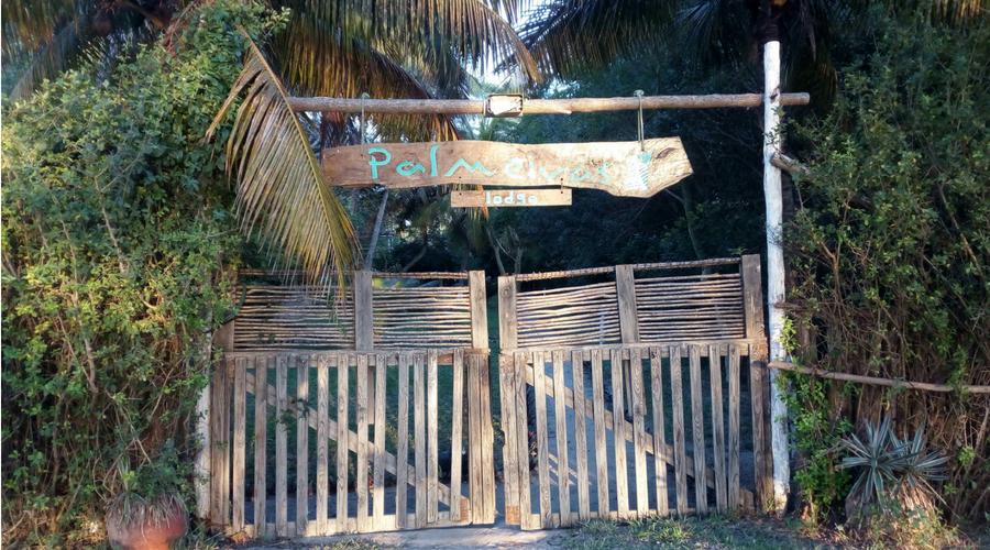 nuestro hotel en Vilanculos, el Palmeiras Lodge
