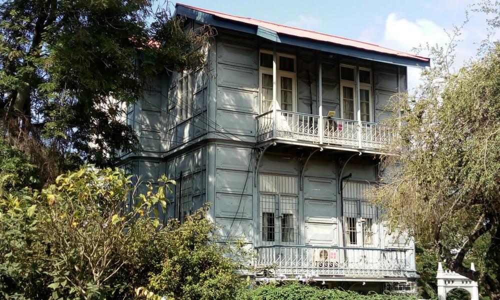 Casa de Ferro, proyectada por Eifel durante su estancia en la Mozambique colonial