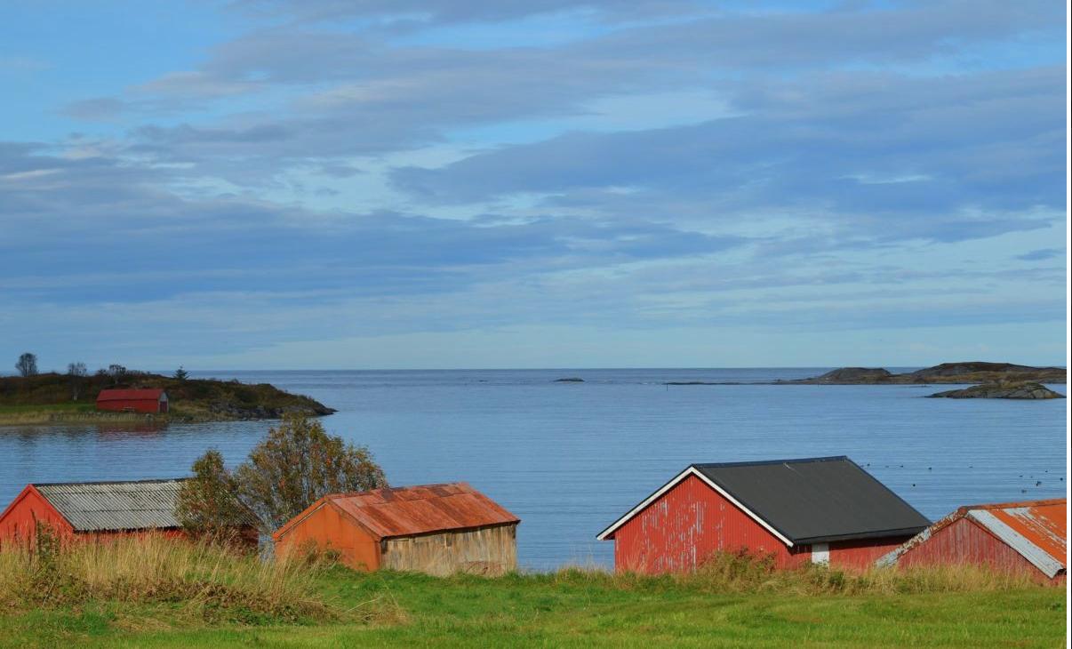 Hustadbukta, Atlanterhavsvegen. Foto de Grete Kongshaug