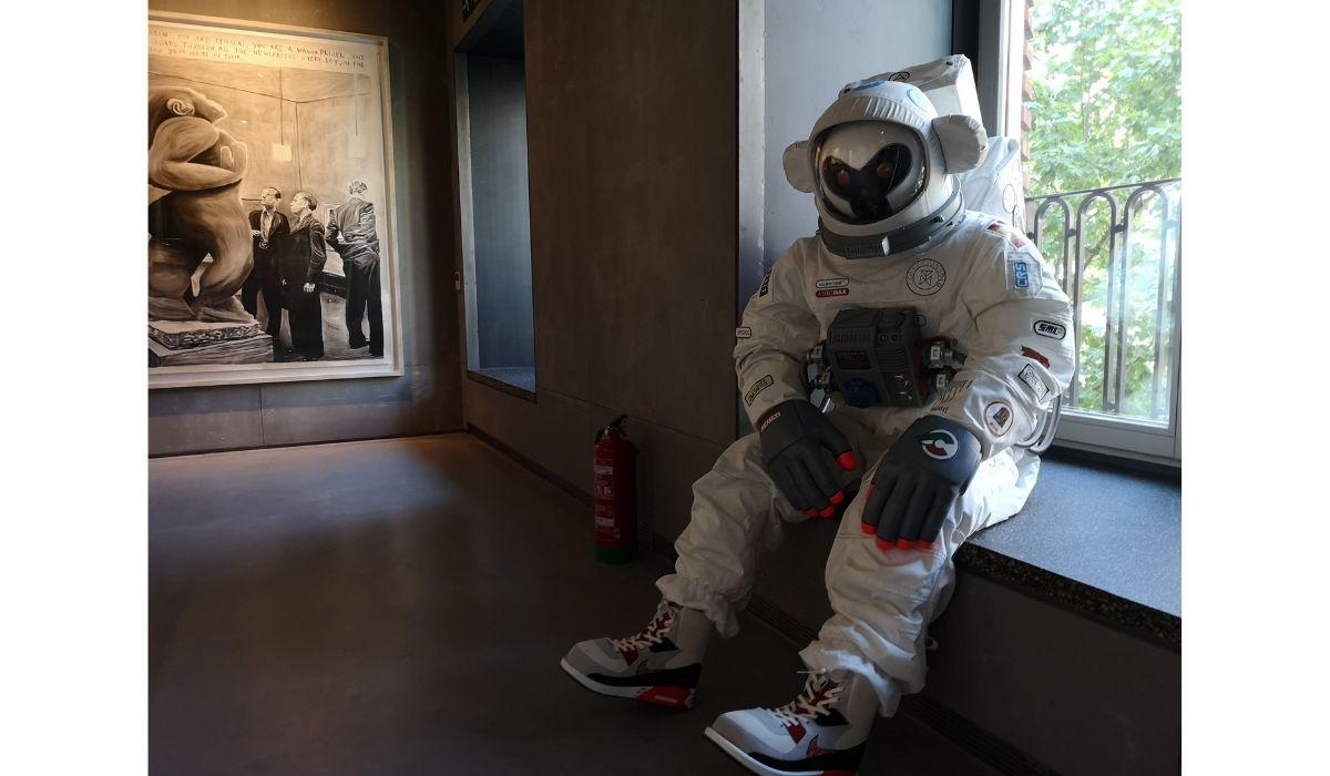 """""""Astroborg"""" de Coolrain Lee (Seúl, Core del Sur) en Espacio SOLO"""
