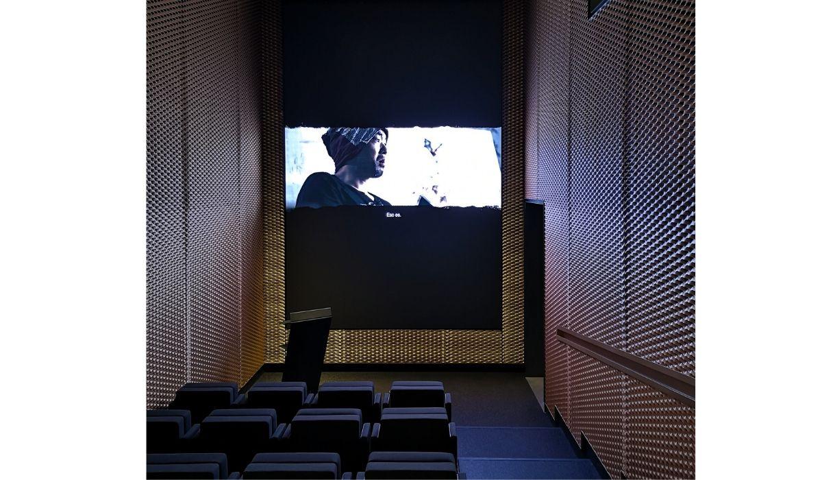 sala de proyecciones en Espacio SOLO